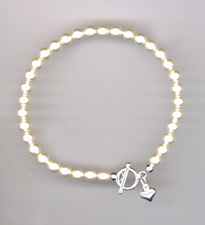 Pearls Of Joy Swarovski Crystal Pearl Bracelet