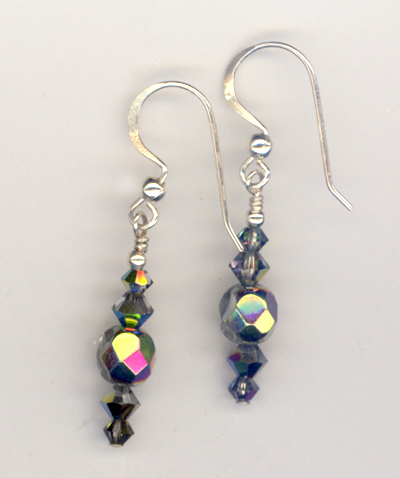 Evening Splendor Crystla Earrings