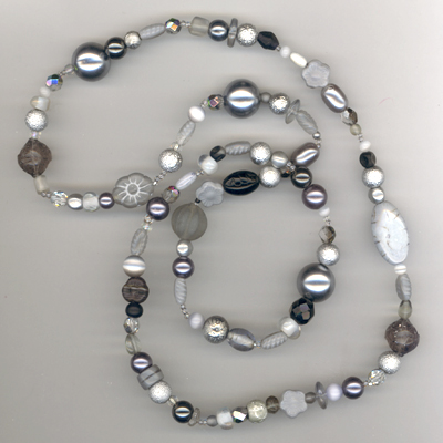 Shining Silver Necklace