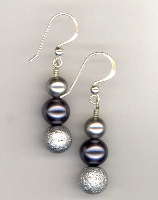 Shing Silver Sterling Silver Earrings