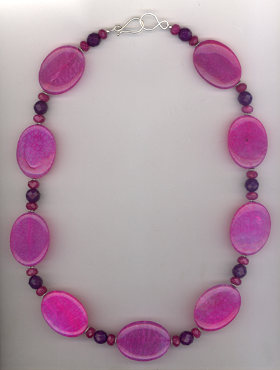 Luxe Violet ~ Gemstone Necklace
