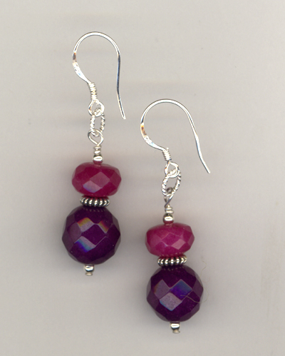 Luxe Violet ~ Gemstone Earrings
