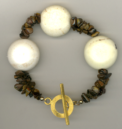 Eye Of The Tiger Gemstone Bracelet