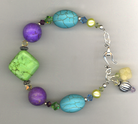 An Apple A Day ~ Gemstone Bracelet