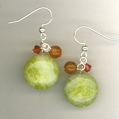 Sumner Salsa Lime Gemstone Earrings