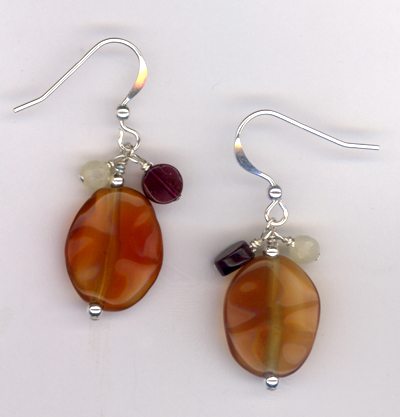 Fireside ~ Gemstone Earrings