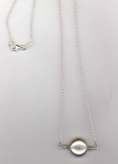 Splash of Silver Necklace