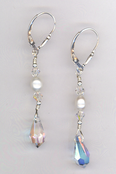 Hannah's Wedding Earrings