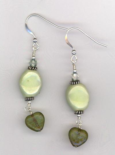 Grass Is Greener ~  Earrings