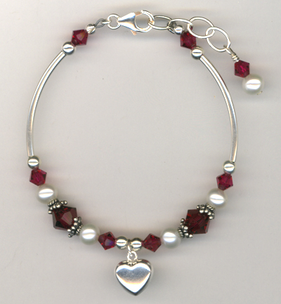 Revel In The Love Charm Bracelet