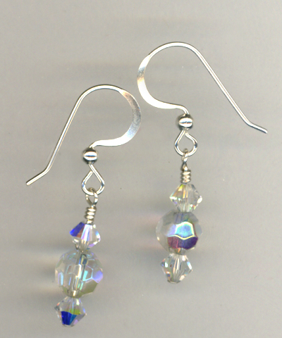 Crystal Short Elegant Earrings