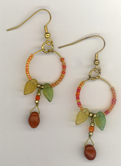 Carve The Turkey ~ Earrings