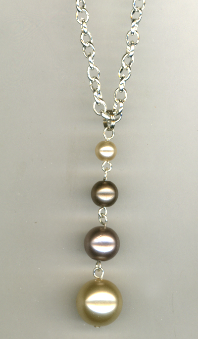 Grandma's Pearls With a Twist! ~ Necklace