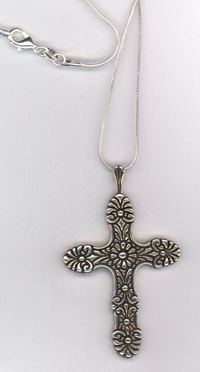 At The Cross ~ Sterling Silver Necklace