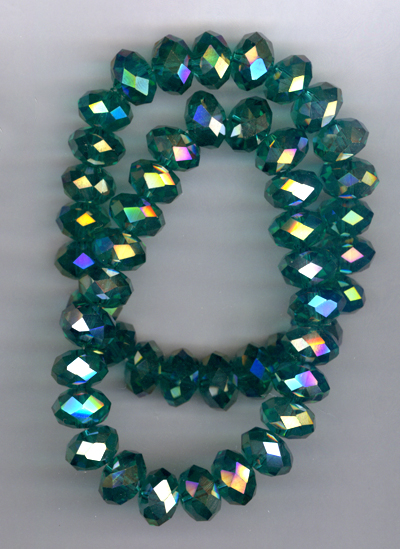 Emerald Isle ~ Crystal Stretchy Bracelets