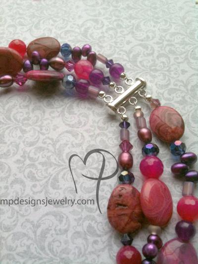 Cabernet necklace clasp