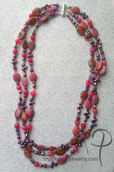 cabernet necklace full