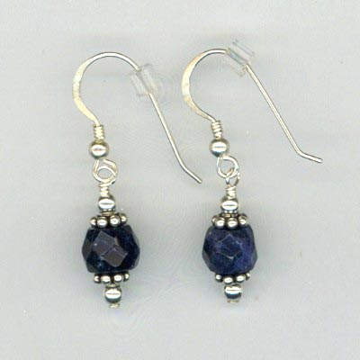 Lapis SS Earrings