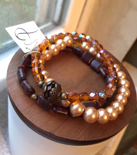 Fabulous fall jewelry set