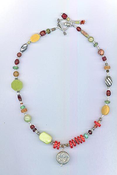 Southwest Multi-gemstone Necklace