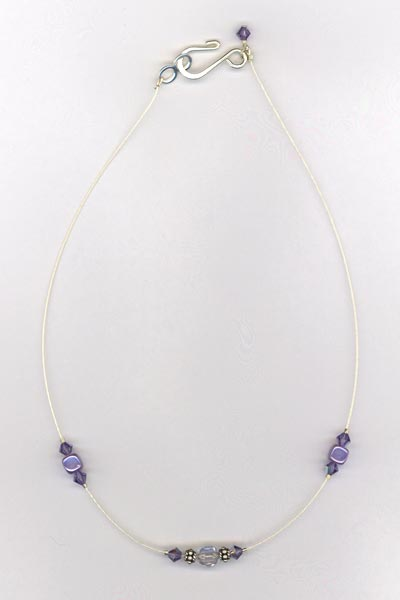tanzanite childs necklace