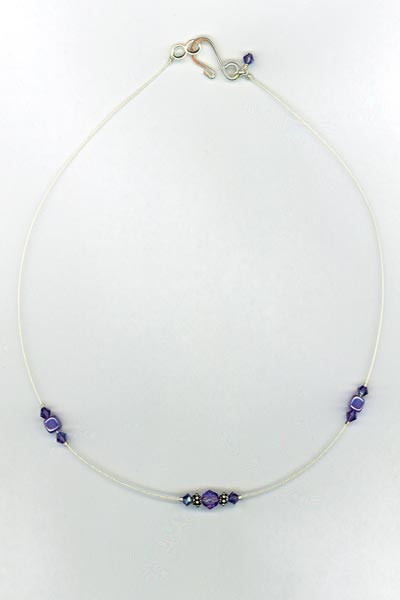 tanzanite necklace mom