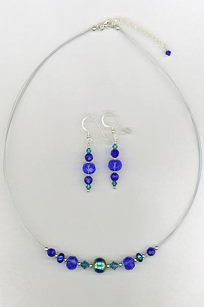 Paula Radko blue set