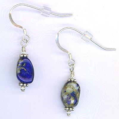 Earrings Gemstone & Silver