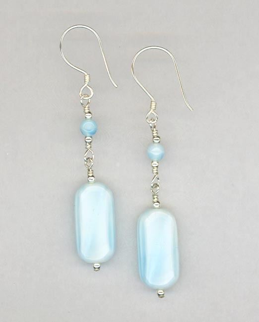 Baby Blue earrings
