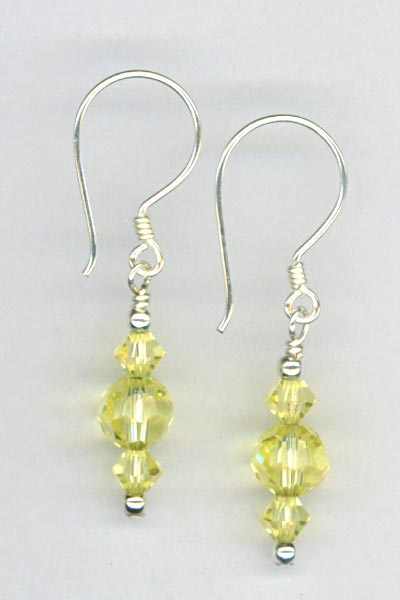Lemon Pie Earrings