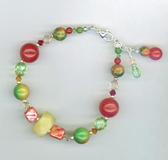 fruit cocktail bracelet