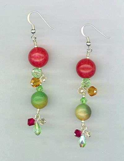 Fruit Cocktail Earrings