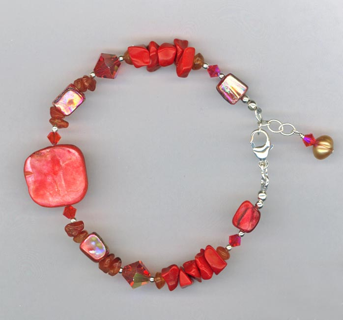 Red Hot Chili Pepper Bracelet