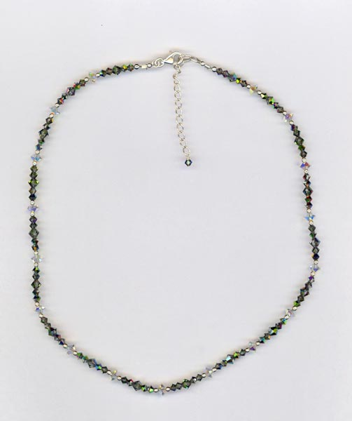 silver splendor 2 necklace