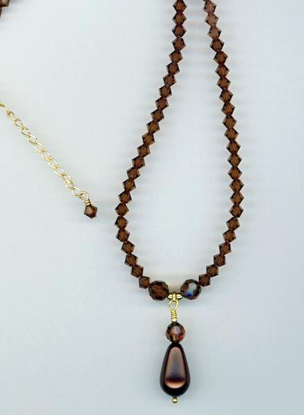 Dark Chocolate ~ Necklace