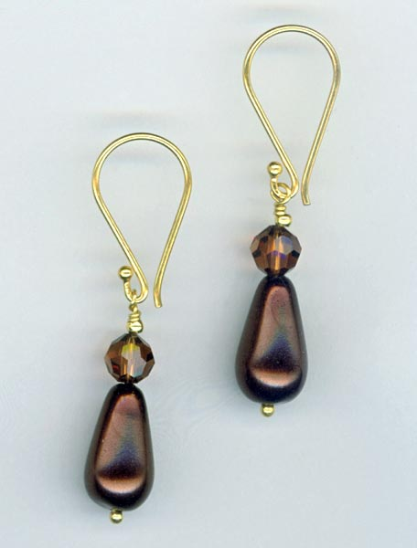 Dark Chocolate ~ Earrings