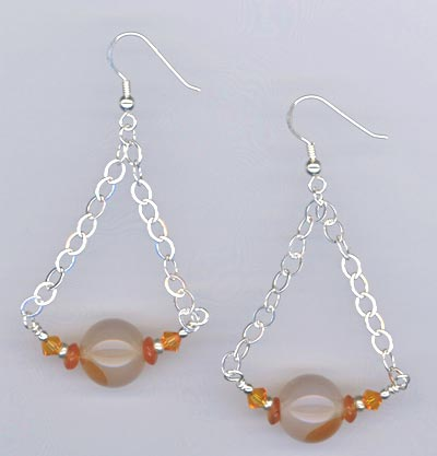Butterscotch Carnelian Earrings
