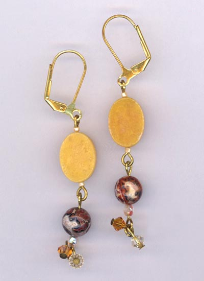 Amber Waves ~ Earrings