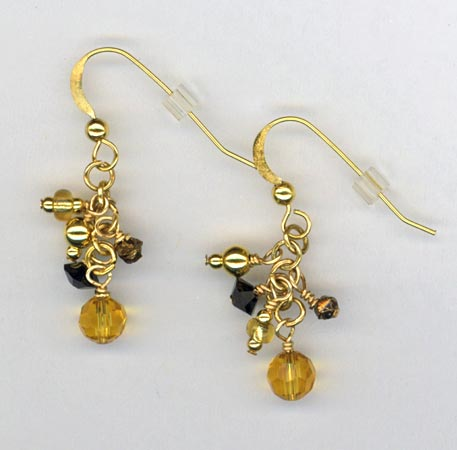 Lavish In Gold ~ Earrings