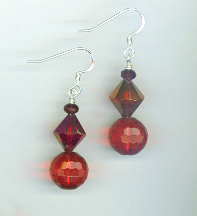 Santa's Helper Red 2 Earrings
