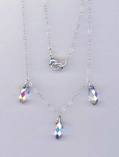 triple dazzle necklace