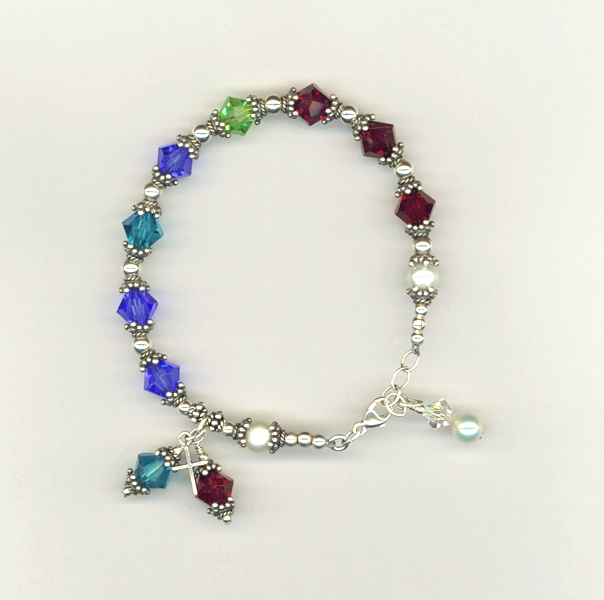 custom mother's bracelet jeanni