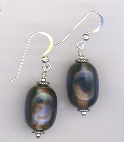 Cool Breeze ~ Sterling Silver Earrings