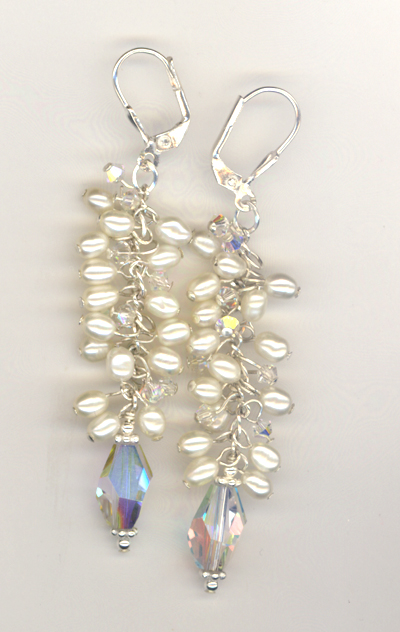 Dancing Pearls Earrings