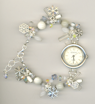 Let It Snow! Bracelet/watch