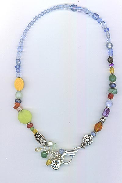 Southwest Multi-gemstone Necklace 2
