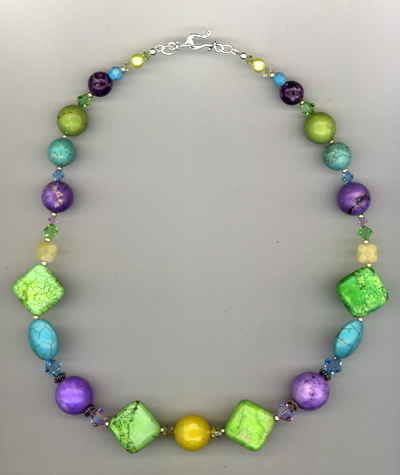 An Apple A Day ~ Gemstone Necklace