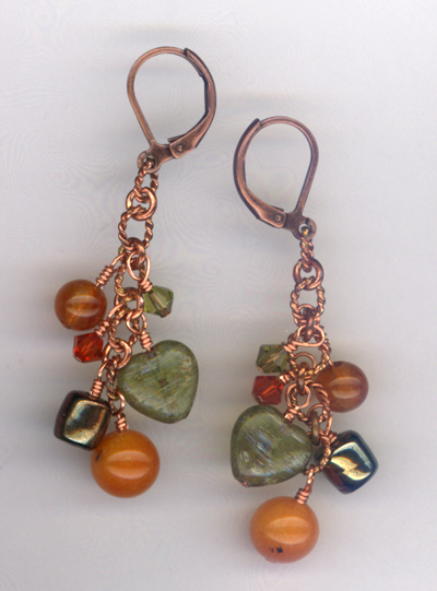 Harvest Copper Earrings