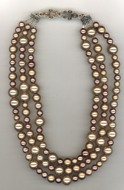 Loads Of  Pearls Necklace