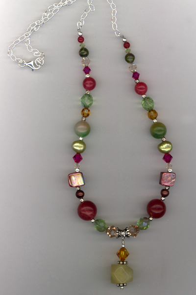 Fruit Cocktail ~ Gemstone Necklace